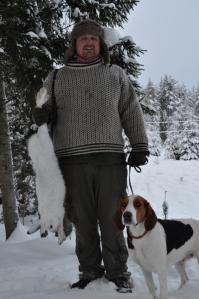 Pepperkaker og Torgeir med hare 2012 026